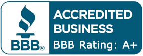 Rate A+ by the Better Business Bureau