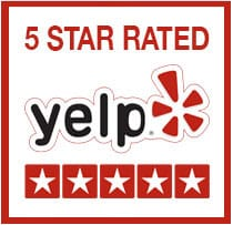 5 Star Rating on Yelp